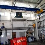 Кран мостовой однобалочный г/п 3,2 т (таль с малой строительной высотой)